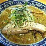 麺屋 八海山 - 煮干ソバ。