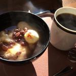 木の実 - 料理写真:山田餅餅入りぜんざい