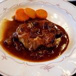 カフェ・ド・グルマン - 料理写真:豚ヒレ肉のステーキ!