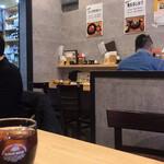 Butanikusemmontentonkatsunori - 店内と提供される黒烏龍茶