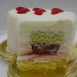 フランス菓子 果摘 - 料理写真:ラブリースマイル断面