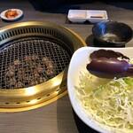 清香園 - ランチのサラダ
