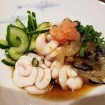 和食ながい - 鱈菊生クラゲ酢