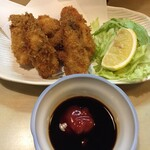 大須亭 - カキフライ