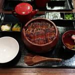 Seigetsu - 上ひつまぶし(中詰め・お吸い物付き)