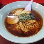 盛岡食堂 - ワンタン麺650円(ネギ抜き)