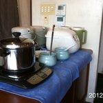 洋食館 たけぞの - 2012.4.2(月)12時訪問 ミンコロ定食650円  白飯、味噌汁おかわり可能 \(^o^)/
