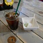 コーナー ゲート バーガー - アイスコーヒー