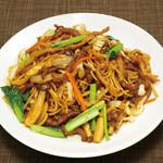 青龍門 - 台湾夜市炒麺
