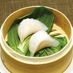 青龍門 - 蒸鮮蝦餃子
