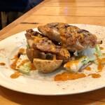 123325674 - 若鶏もも肉のグリル クミンとパプリカのソース