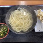 123326099 - 釜揚げ(大)&シイタケ天