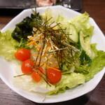 焼肉元太 - 野菜サラダ(580円)