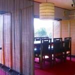 OYUMINO KAPPO 彩 - 半個室状態の店内