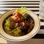 ステーキハウス Gottie's BEEF - サラダ。