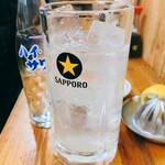 ばん - レモンサワー