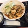 ウイリアムズ - 料理写真:日替わり定食(豚キムチ定食)