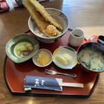 魚夏 - 穴子天丼