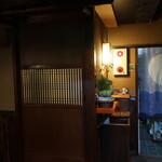 浅草一文 - 2Fの廊下