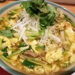 和食ながい - 季節のあんかけ稲庭うどん:焼き鳥と冬野菜のあんかけ稲庭うどん