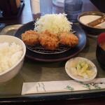 とんき - 料理写真:ランチ一口ヒレ定食