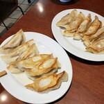 123354272 - 大葉餃子とニラ餃子