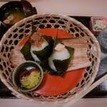 旬のご馳走ごはん 山水草木 - 料理写真:おにぎりセット(\390)