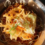 ゆで太郎 - 料理写真:朝メニューにかき揚げ無料券