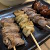 すずめ - 料理写真:串焼き四種盛り