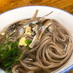 宮川製麺所 - 蕎麦にイリコって、なんとな~くレア?