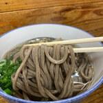 宮川製麺所 - 優しい口当たりのお蕎麦です。