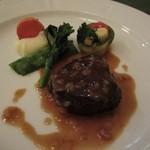12336178 - 牛フィレ肉のステーキ