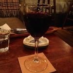 hiyori Cafe - グラス赤 日和カフェ