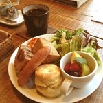 Cafe-nee - ブランチセット