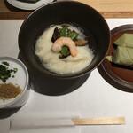 三輪山本 お食事処 - そうめんと柿の葉寿司です
