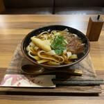 和cafe 千草 - 料理写真:きしめん(¥500)
