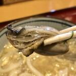 あやがわうどん - ぷり牡蠣