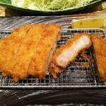 恵比寿かつ彩 - 料理写真:赤毛のデュロックロースかつ