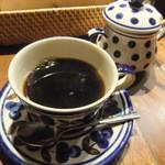 ルーエプラッツ ツオップ - 食後のコーヒー