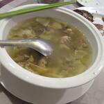 天厨菜館 - スープ