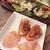 365 餃子バー - オリーブとアンチョビのポテサラとサービスの品