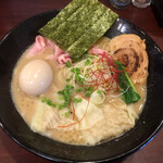 123378938 - 特製濃厚鶏そば(1100円)