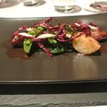 リストランテ カノフィーロ - トムラウシジャージー牛ハラミ肉のグリーリア