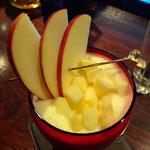 123379996 - 山形の秋陽(しゅうよう)りんごのカクテル
