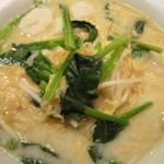 Tenshinhanten - 2012/3 魚のだんごと湯葉入り麺