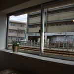 タビラコ - 窓からの景色