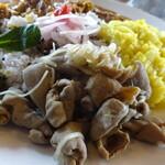 サハスラーラ - ナカミ(豚モツ煮)沖縄料理