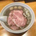 木更津 丿貫 - 極煮干しうずらと肉増し