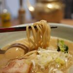 麺や高倉二条 - 全粒粉麺