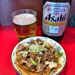 勢得 - アサヒビール(中瓶) 560円